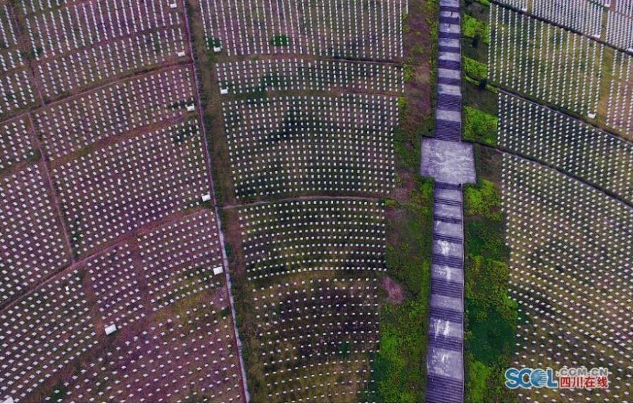 航拍全国最大烈士陵园 两万名烈士安眠 - 周公乐 - xinhua8848 的博客