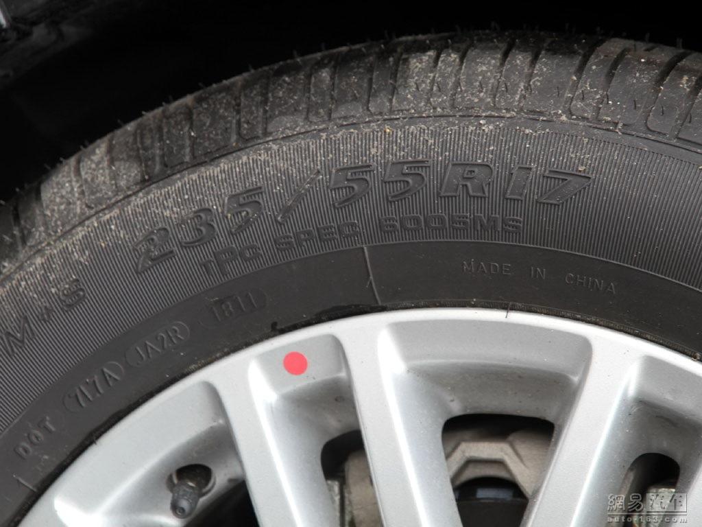 凯迪拉克sls赛威 2.0t at舒适型 轮胎规 高清图片